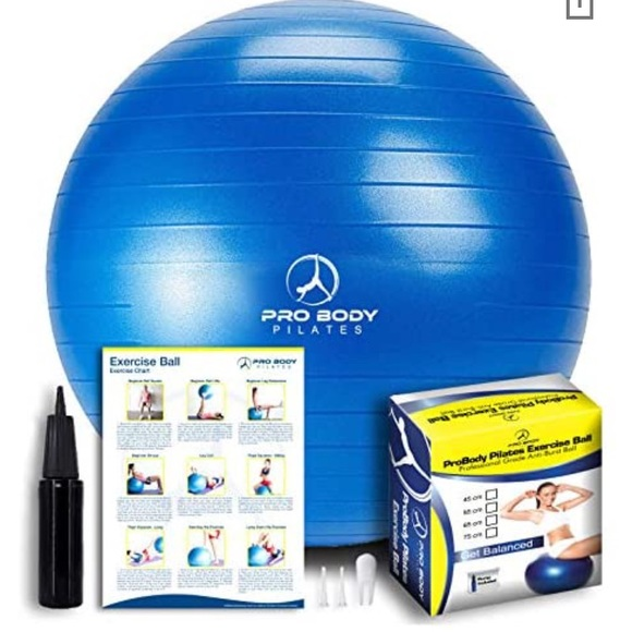 ProBody Pilates exercise ball 85cm blue